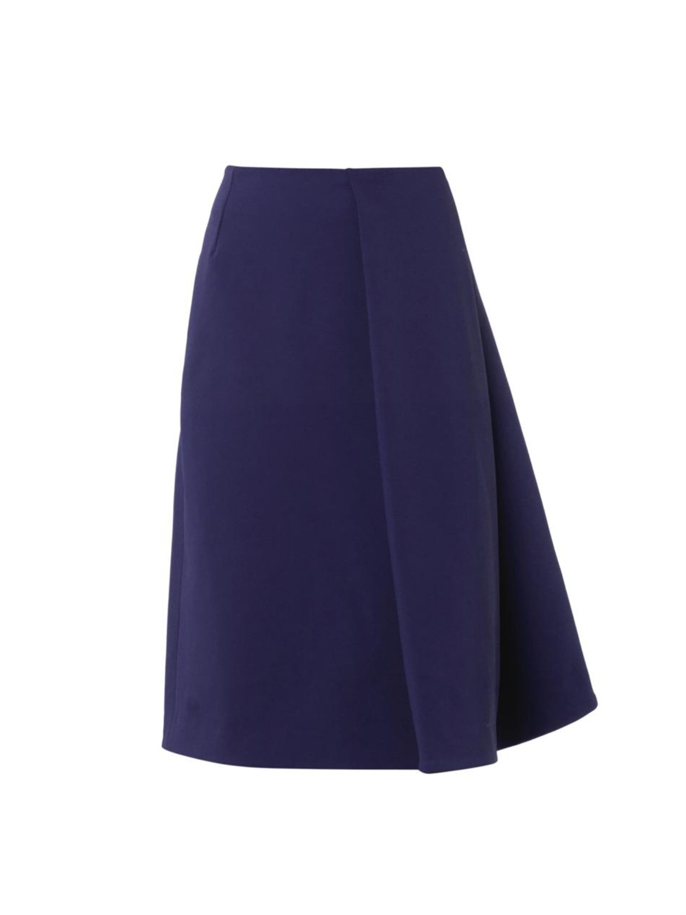 J.w.anderson Sail Wool-Blend A-Line Skirt in Blue | Lyst