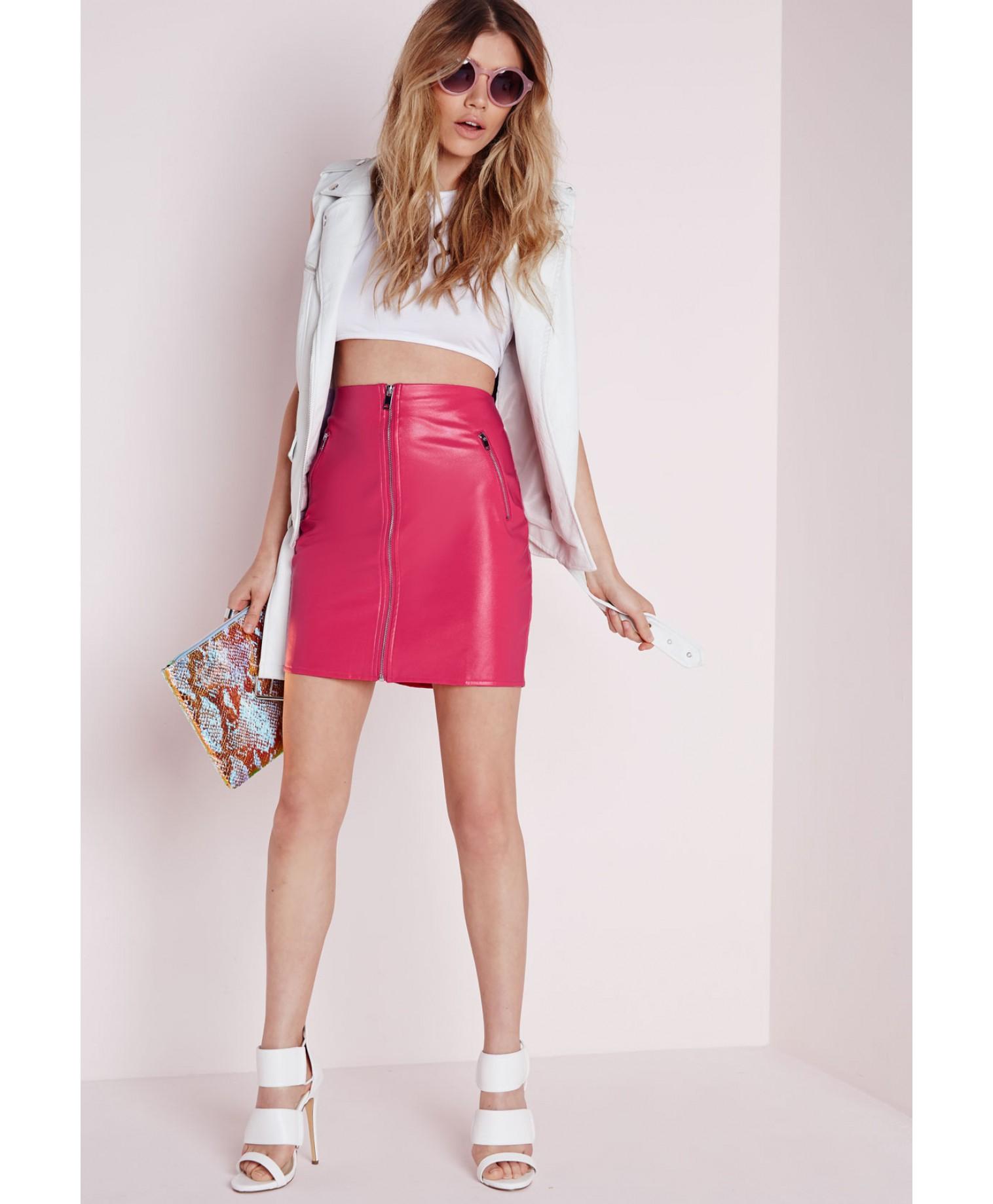 Regret, Pink mini skirt thanks for