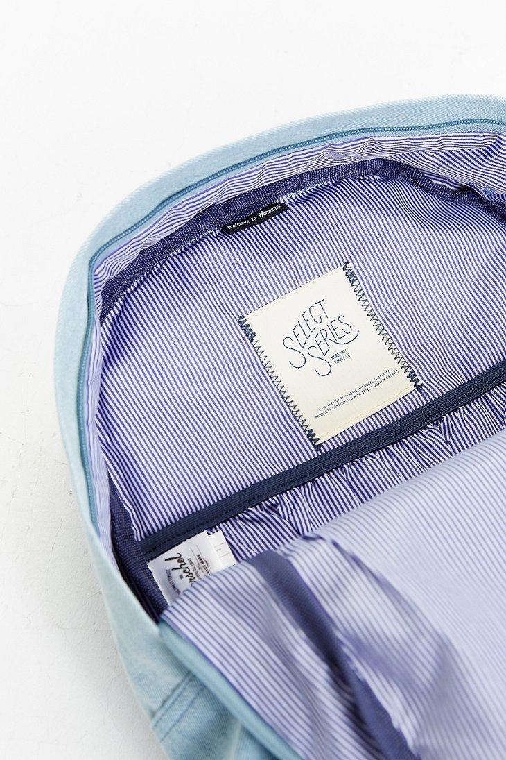Lyst herschel supply co heritage select denim backpack for Select light