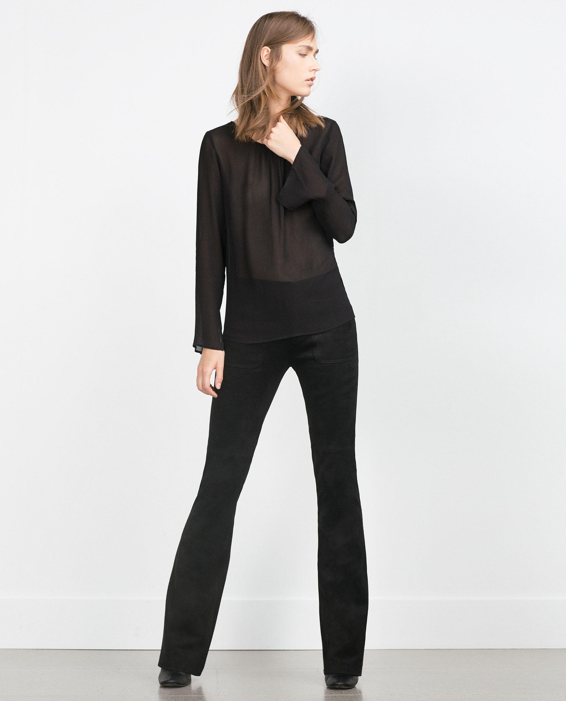 Zara Backless Blouse 11