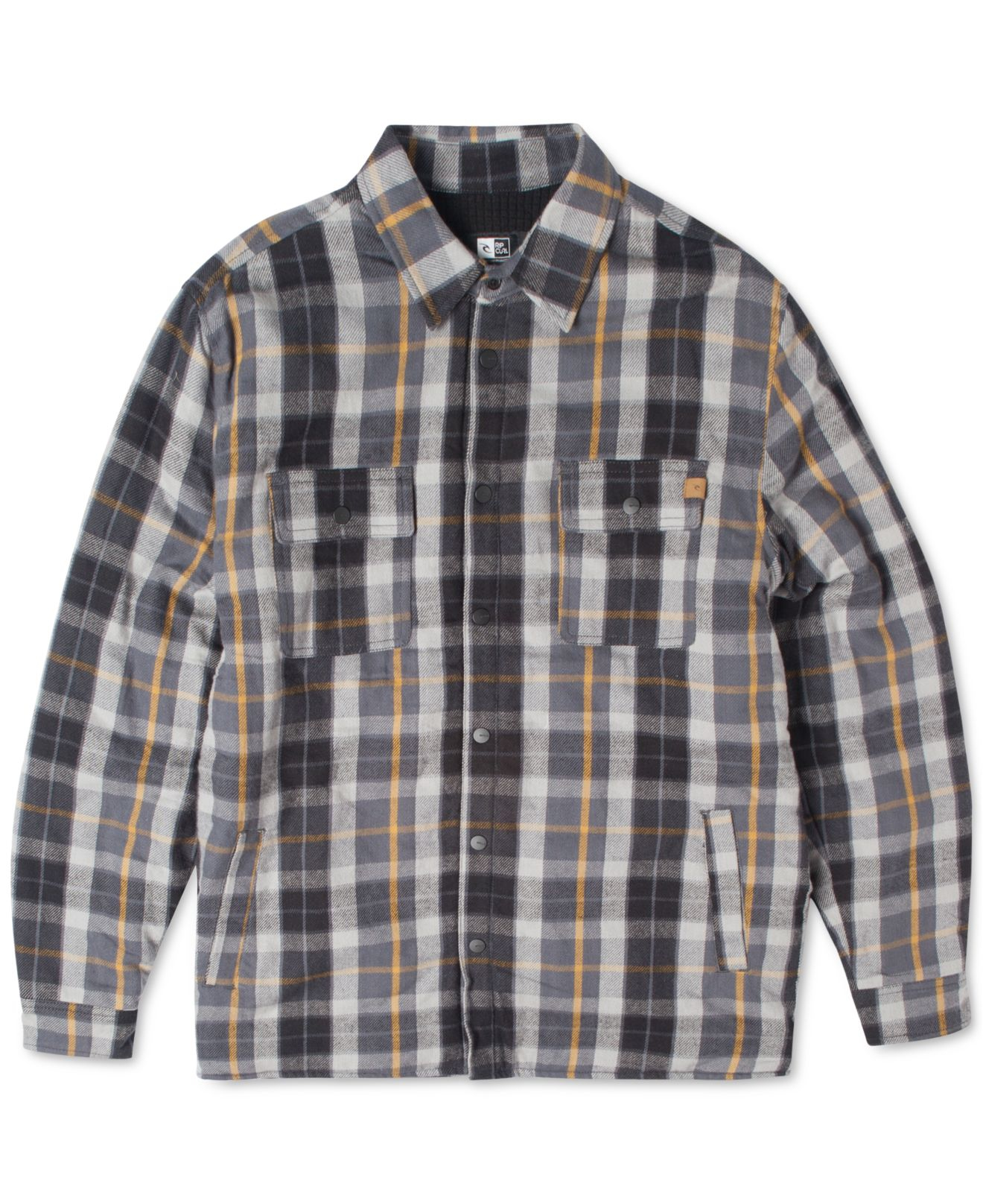Lyst Rip Curl Gibbs Plaid Flannel Long Sleeve Shirt