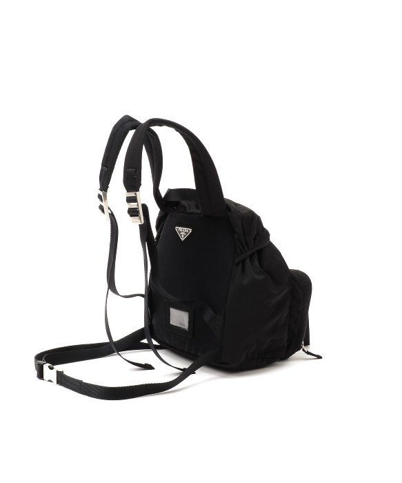 prada luggage price - Prada Pre-Owned: Tessuto Backpack in Black for Men | Lyst