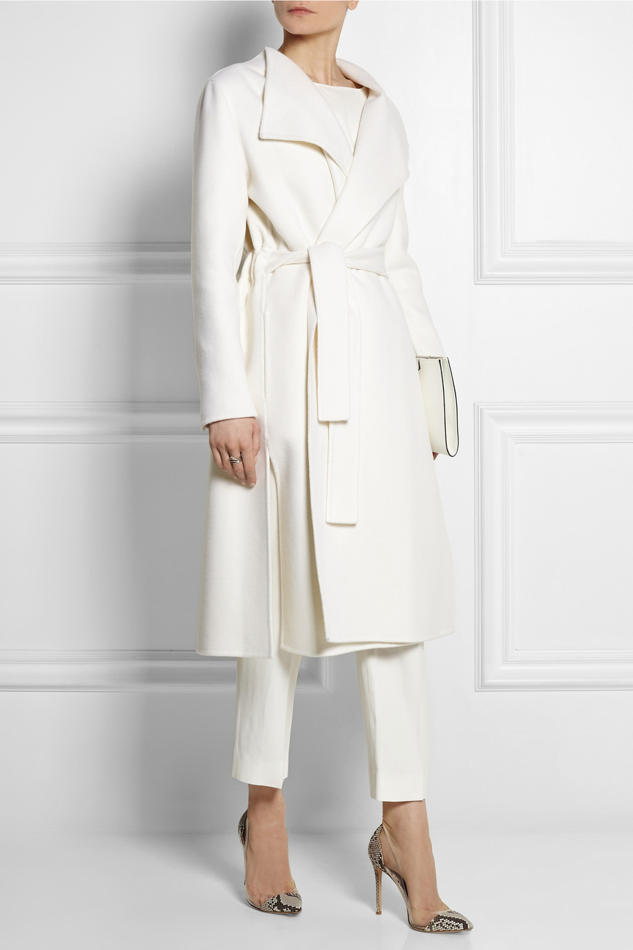 White Cashmere Coat