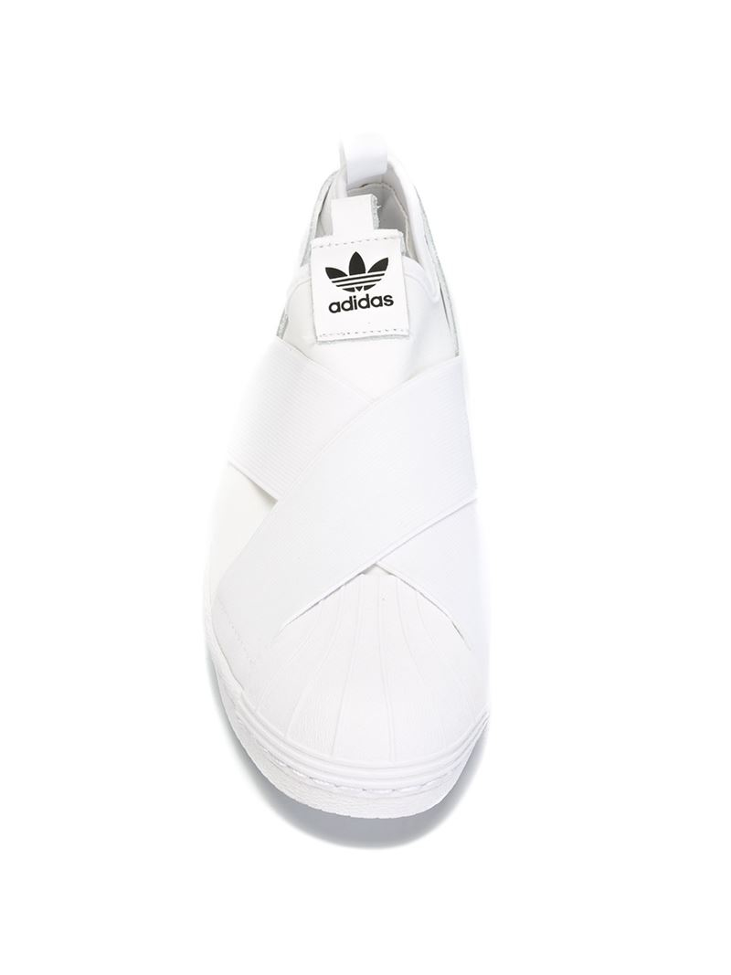 Superstar J W Adidas Schoenen White Black White