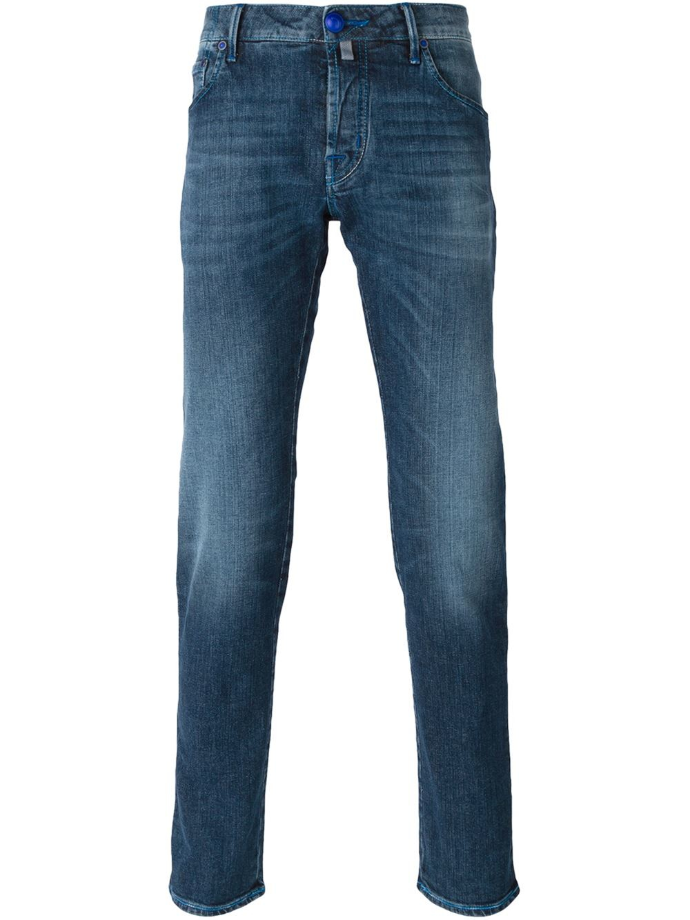 jacob cohen slim fit jeans in blue for men. Black Bedroom Furniture Sets. Home Design Ideas