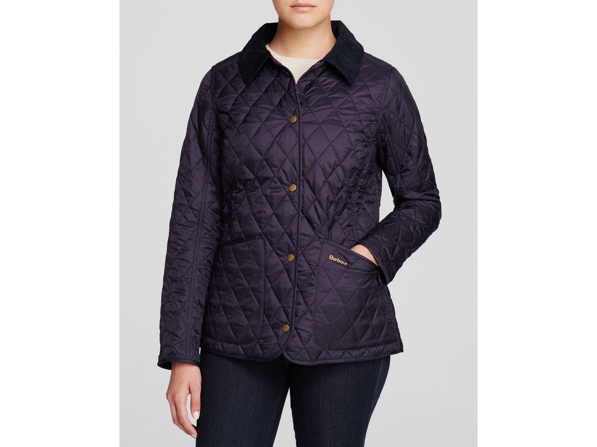 Barbour quilted jacket womens clothing