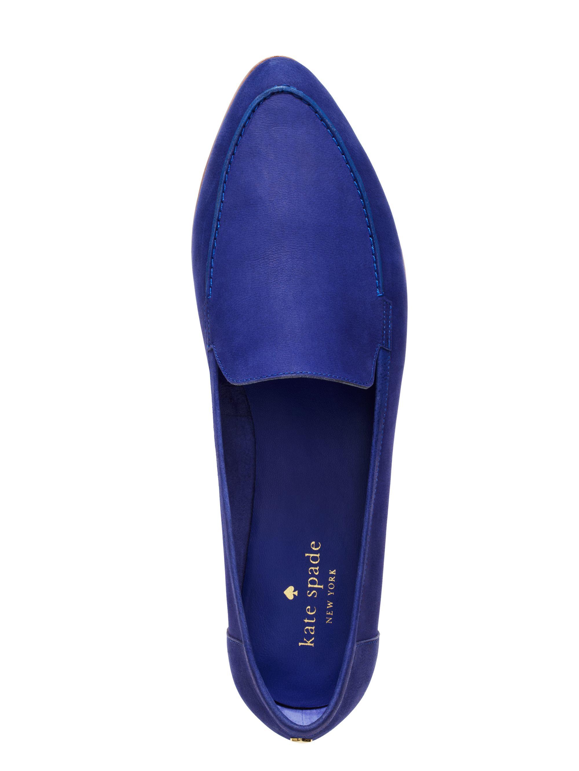 8a557a89e612 Kate Spade Carima Flats in Blue - Lyst