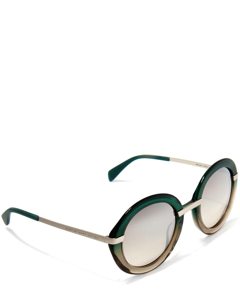 Marc Jacobs Contrast round sunglasses pNVlE