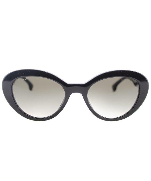 eb4dafb4f0 ... czech lyst prada pr 15qs 1ab0a7 black cat eye plastic sunglasses in  black aef61 73242