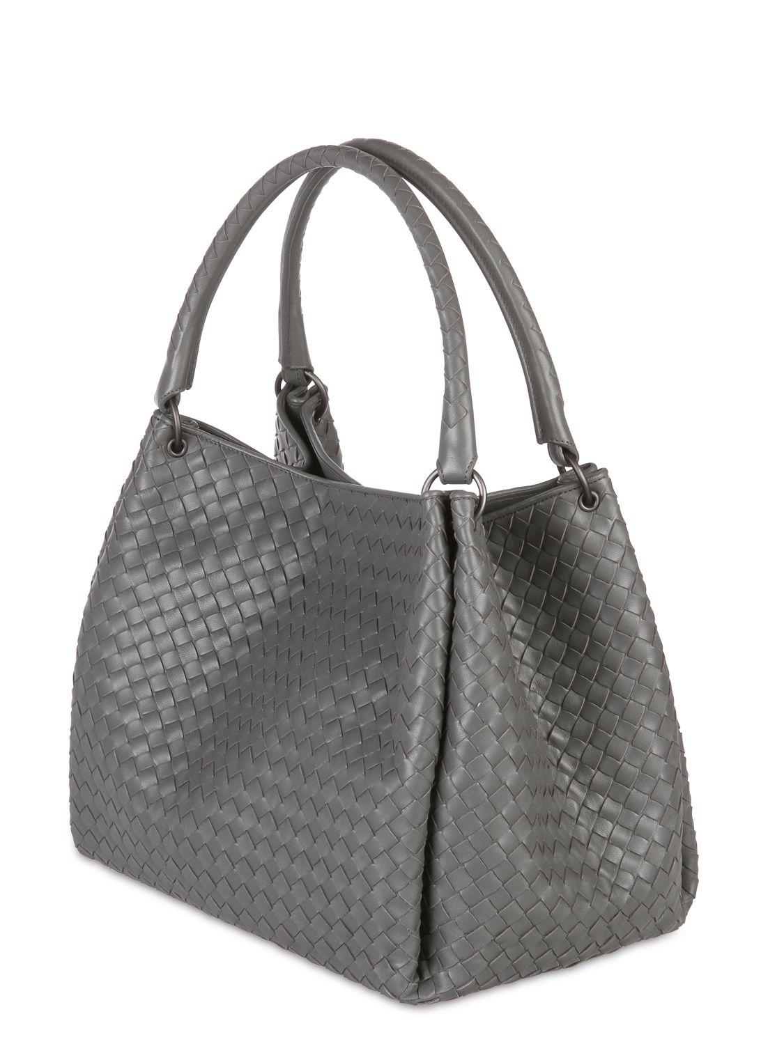 Lyst Bottega Veneta Parachute Intrecciato Nappa Leather