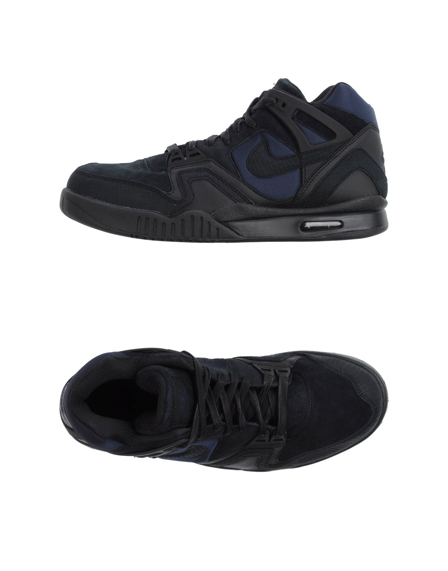 nike high tops trainers in black for lyst