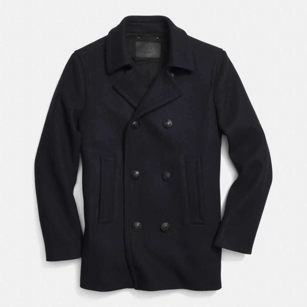 Coach Military Peacoat in Blue for Men | Lyst