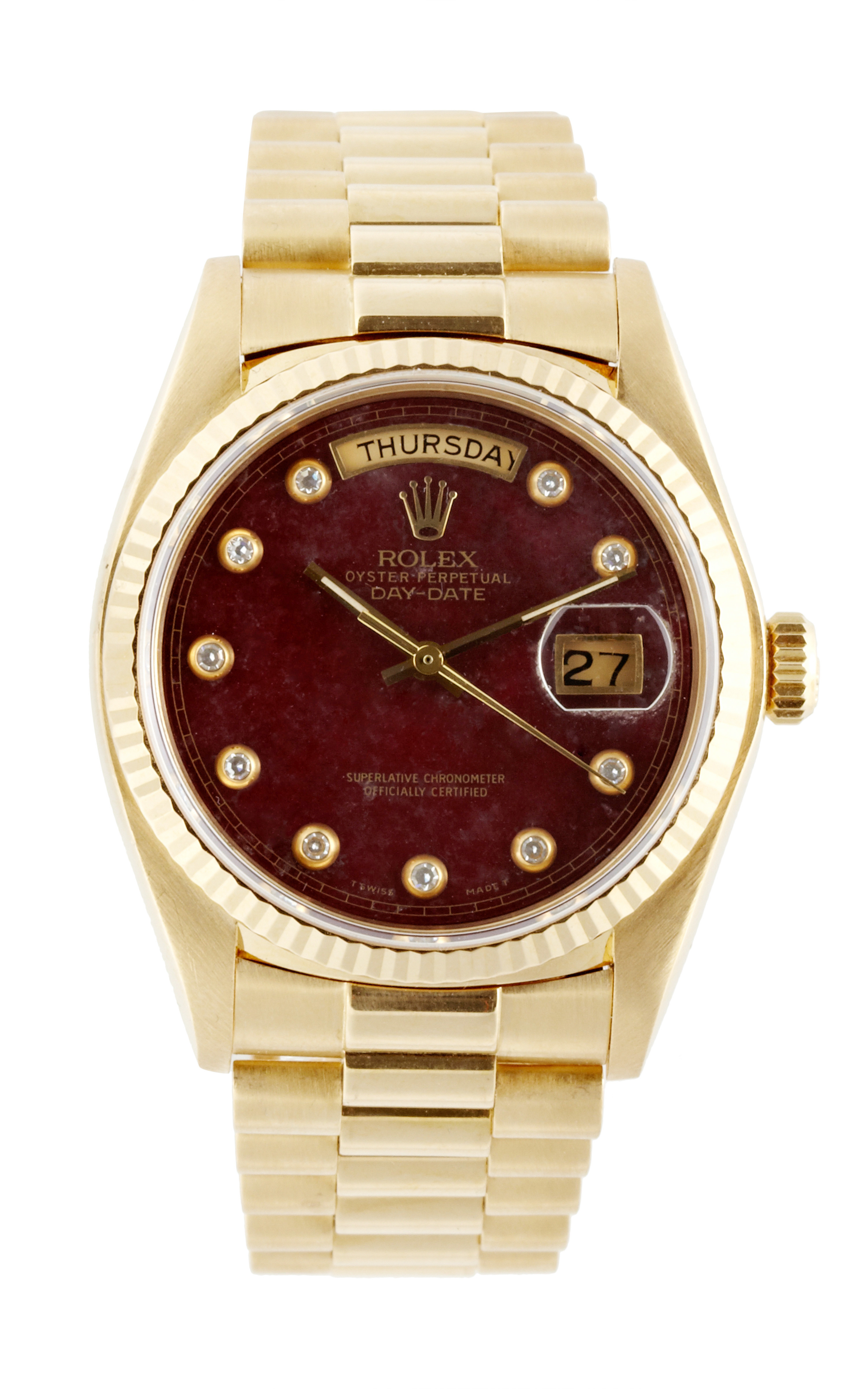 cmt and jewelry advisors vintage rolex 18k