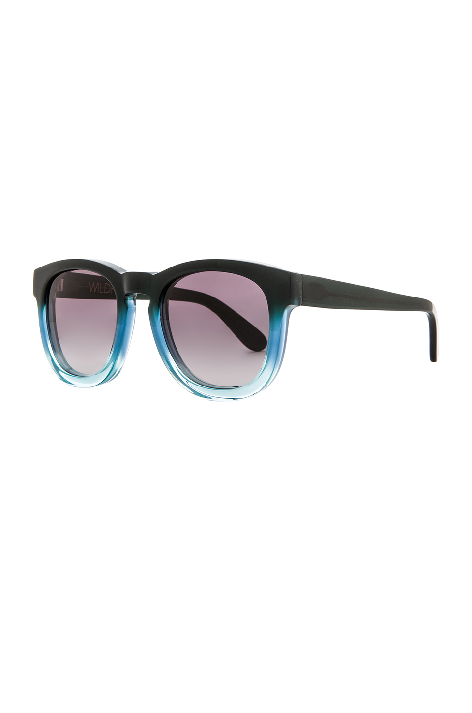 wildfox classic fox sunglasses in black lyst