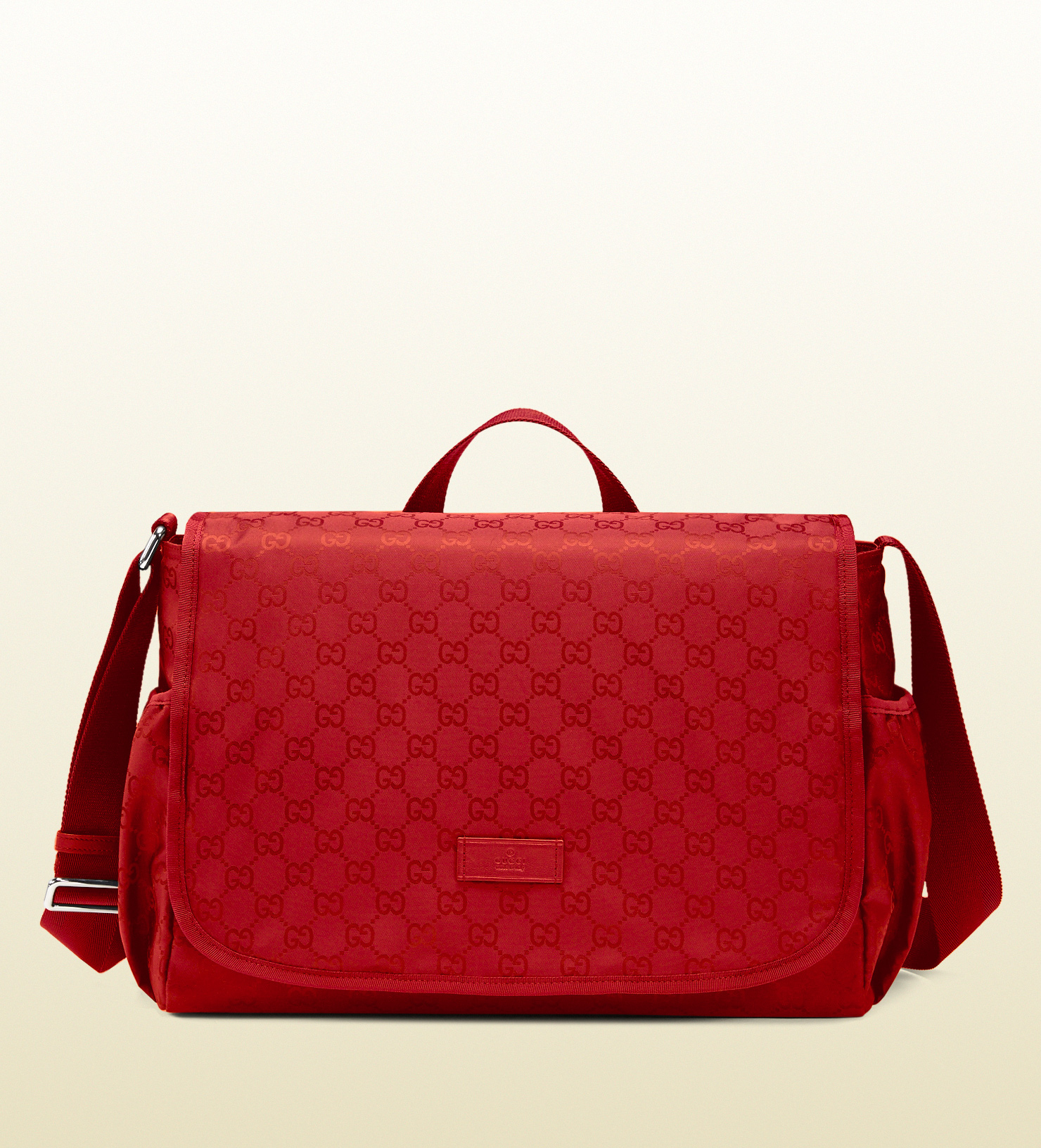 a3481b70e058 Gucci Nylon Backpack Red- Fenix Toulouse Handball