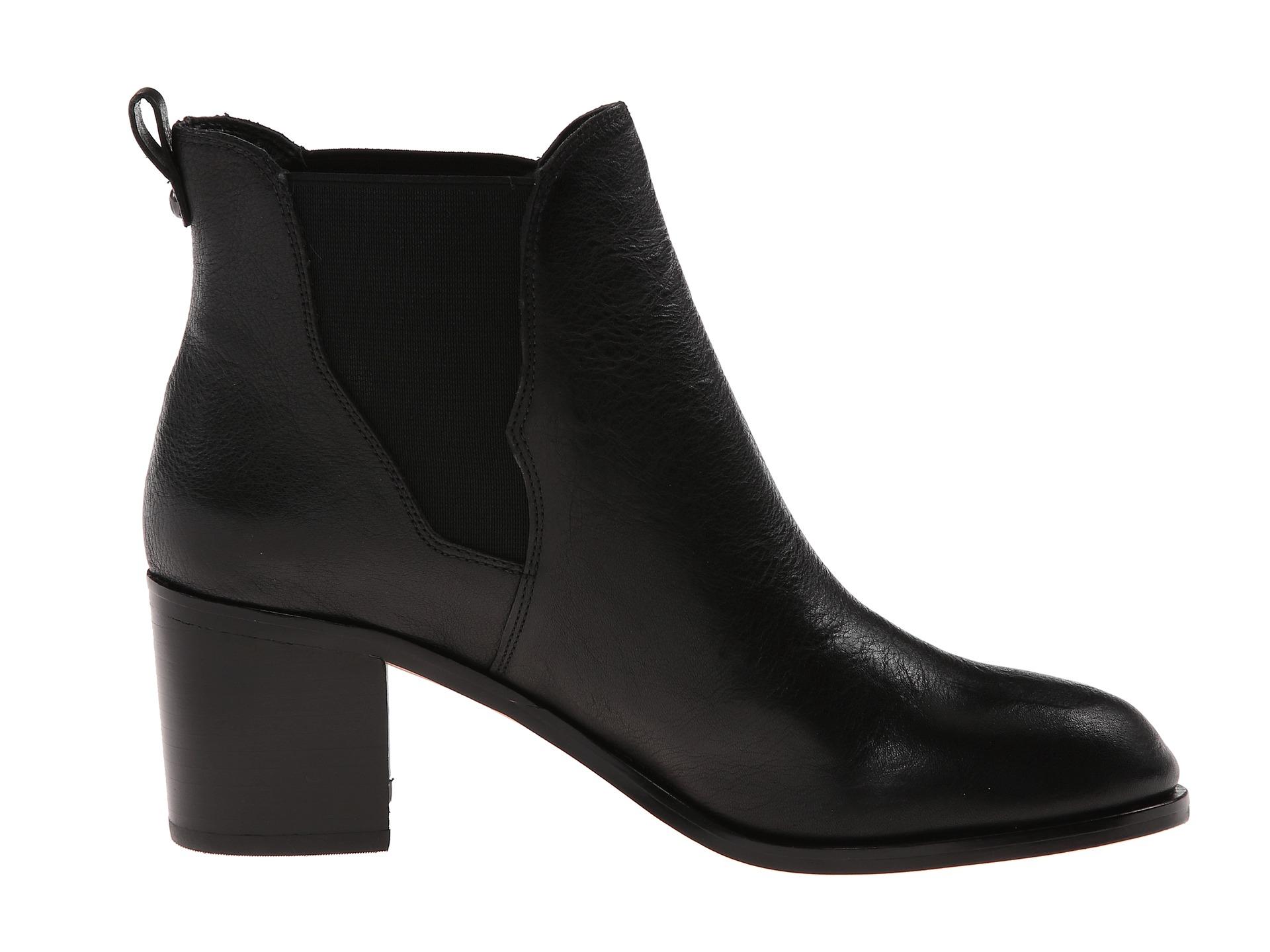 868ca44fb874 Lyst - Sam Edelman Justin Ankle Boot Black Leather in Black