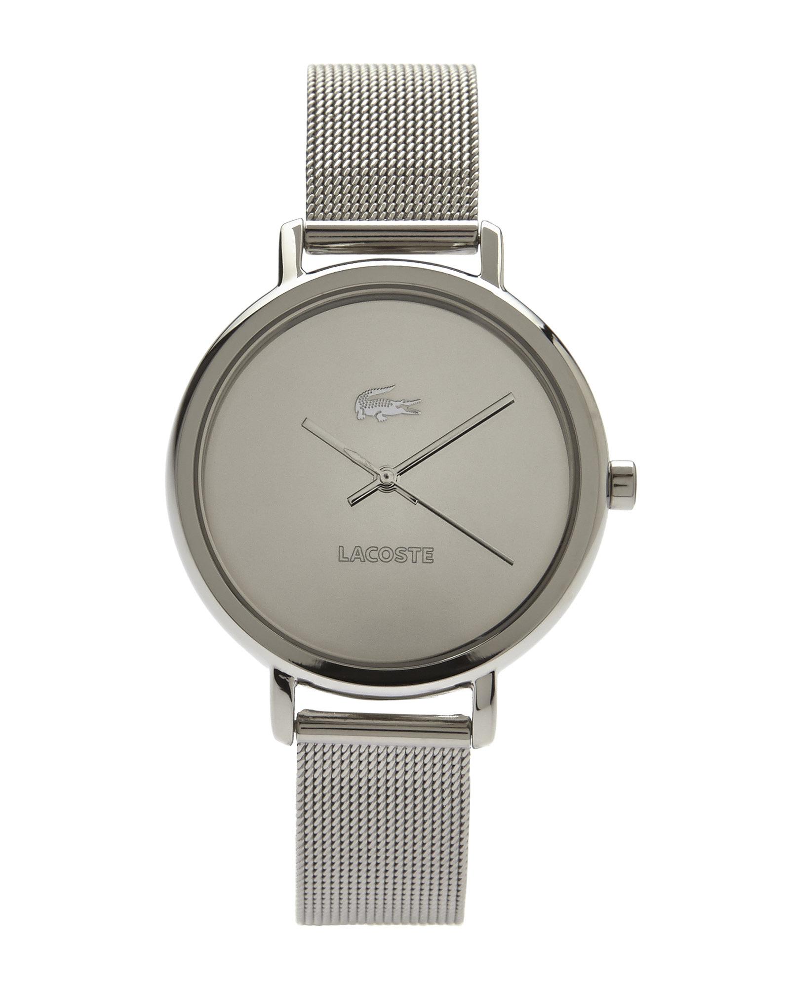 0e3225c5ff0 Lyst - Lacoste 2000714 Silver-Tone Mirror Watch in Metallic