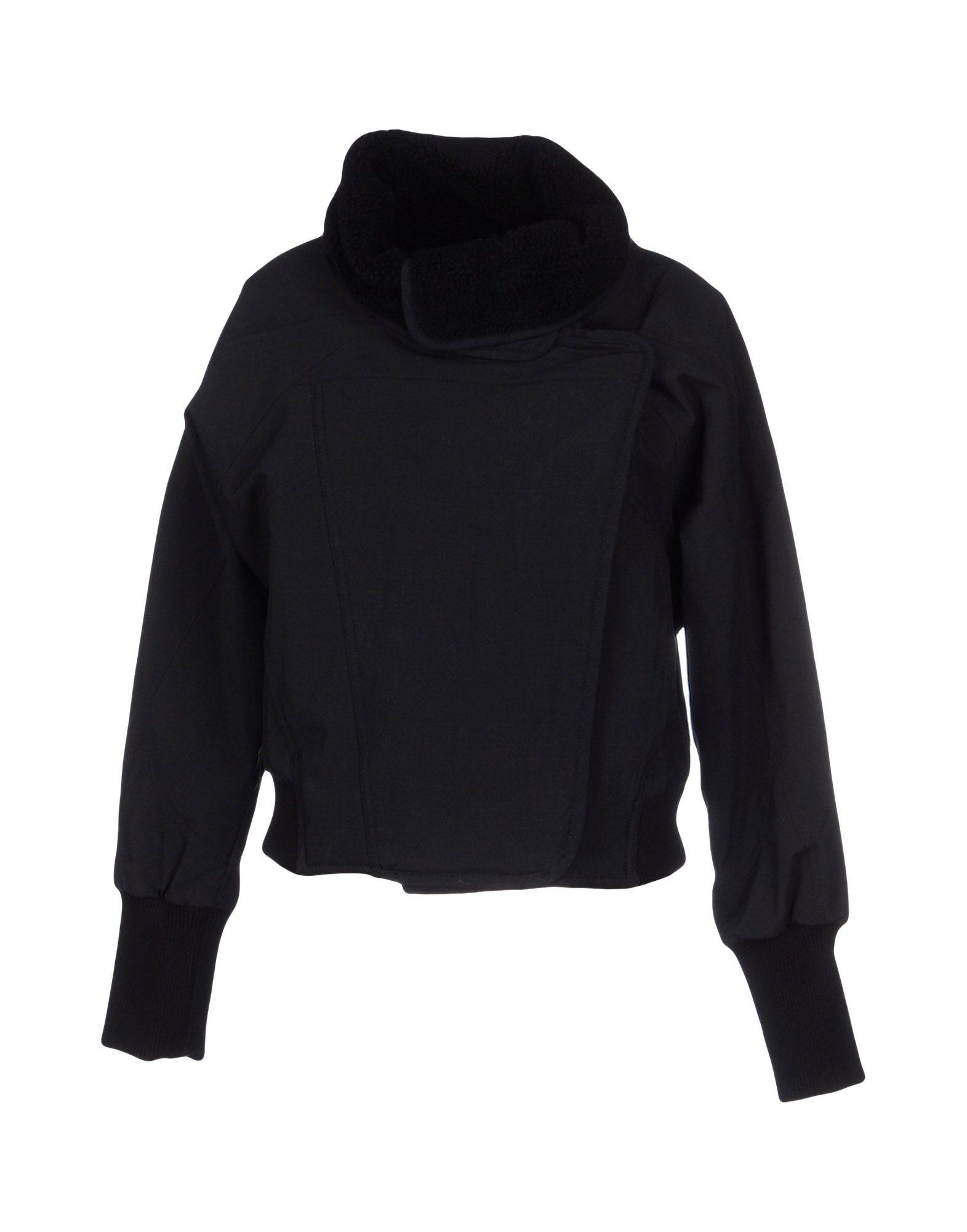 Lyst Adidas By Stella Mccartney Jacket In Black