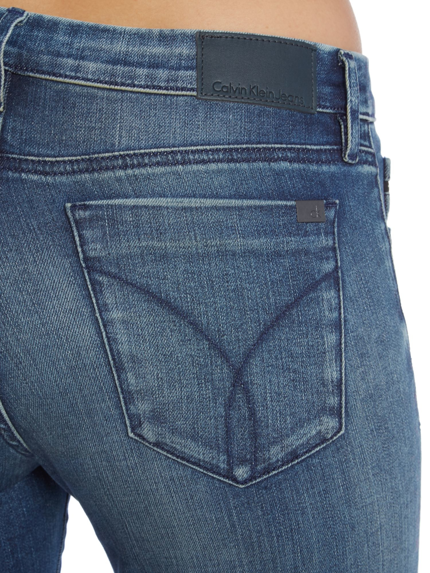 Calvin klein jeans mid rise skinny jeans