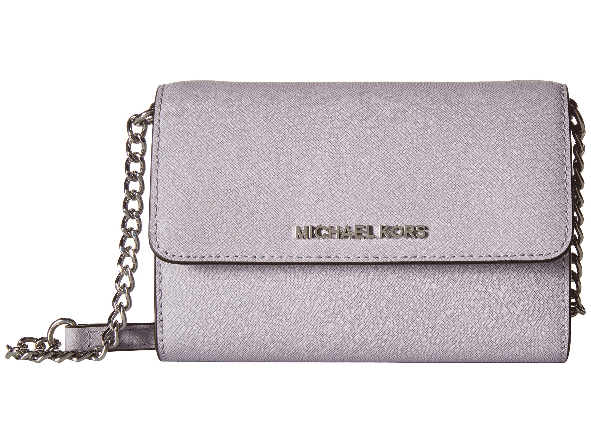 3e2aeefd3ad9 MICHAEL Michael Kors - Purple Jet Set Travel Large Phone Crossbody - Lyst