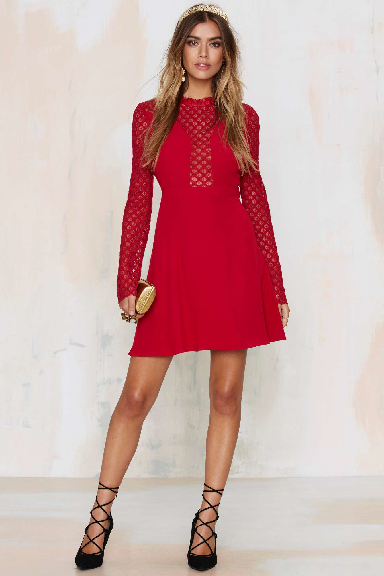 Lace dress nasty gal 20