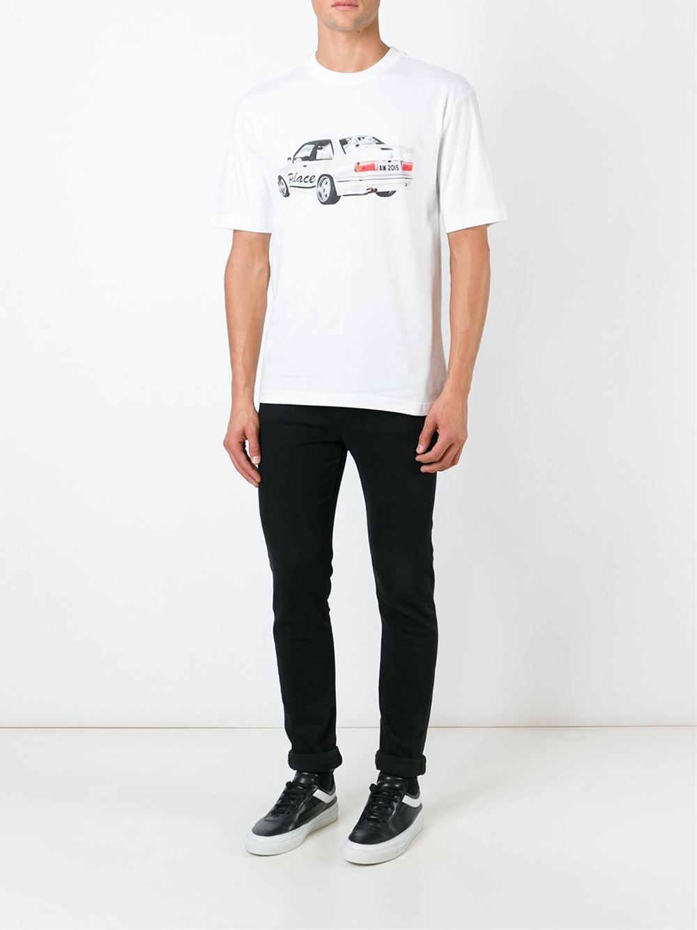 eba2329d0565 Lyst - Palace  schotter  T-shirt in White for Men