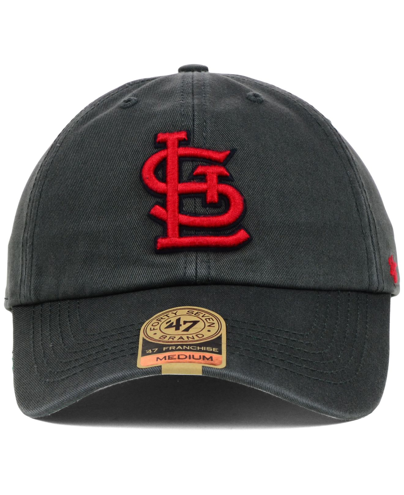 online retailer b97e9 2bb80 47 Brand St. Louis Cardinals Mlb Hot Corner Franchise Cap in Gray ...