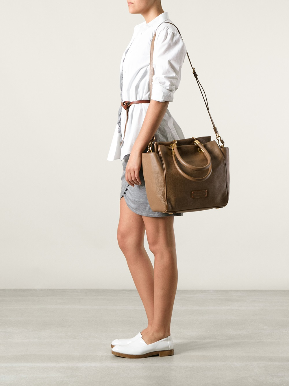 b1a163919905 Lyst - Marc By Marc Jacobs Bentley Tote in Brown