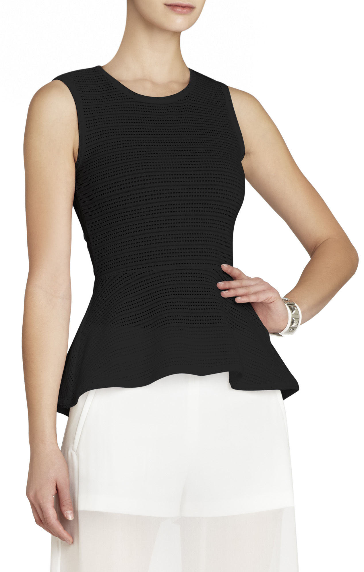 how to draw a peplum top