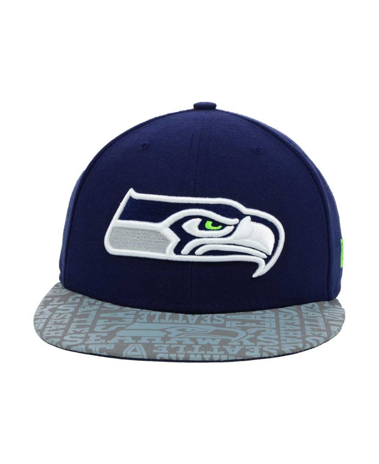 ... wholesale lyst ktz seattle seahawks nfl draft 59fifty cap in gray for  men 47435 8bd46 68a375b1c377