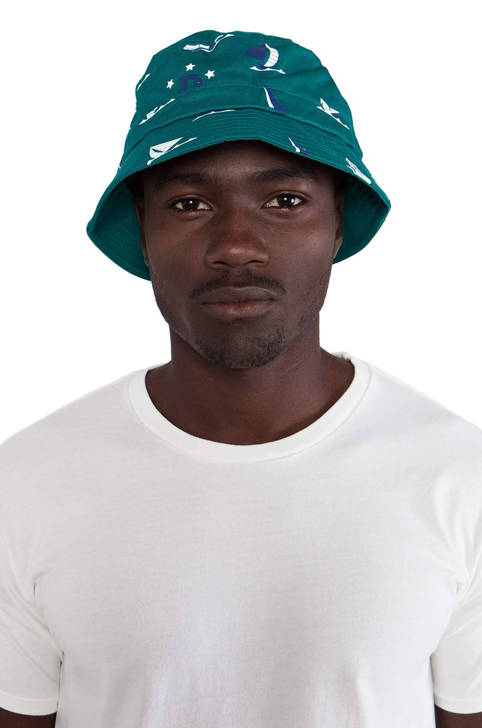 10fb499a217636 Lyst - Odd Future Earl Sinking Boat Bucket Hat in Green for Men