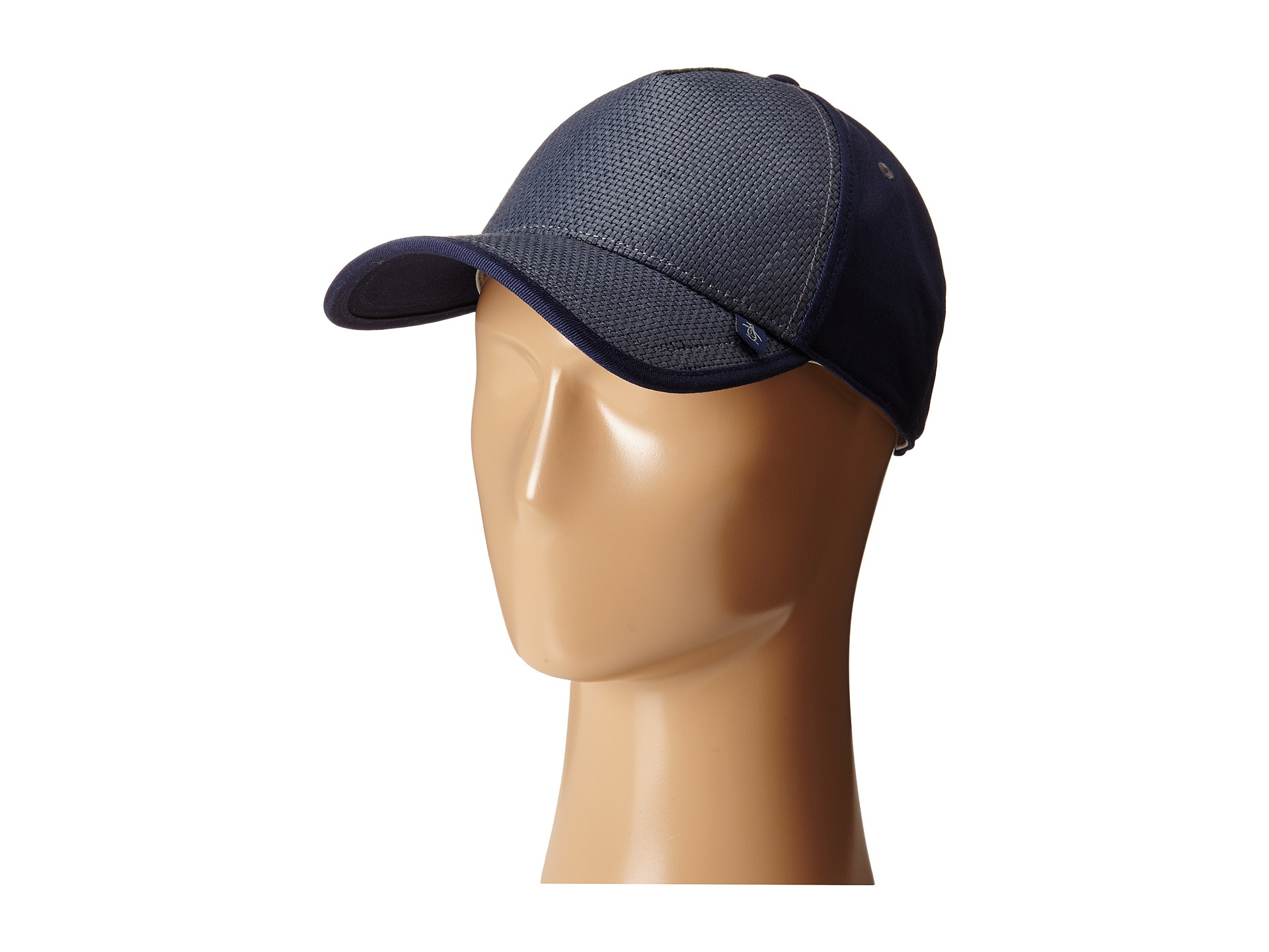 Lyst - Original Penguin Jaffe Straw Ball Cap in Blue for Men 96a5567bbc08