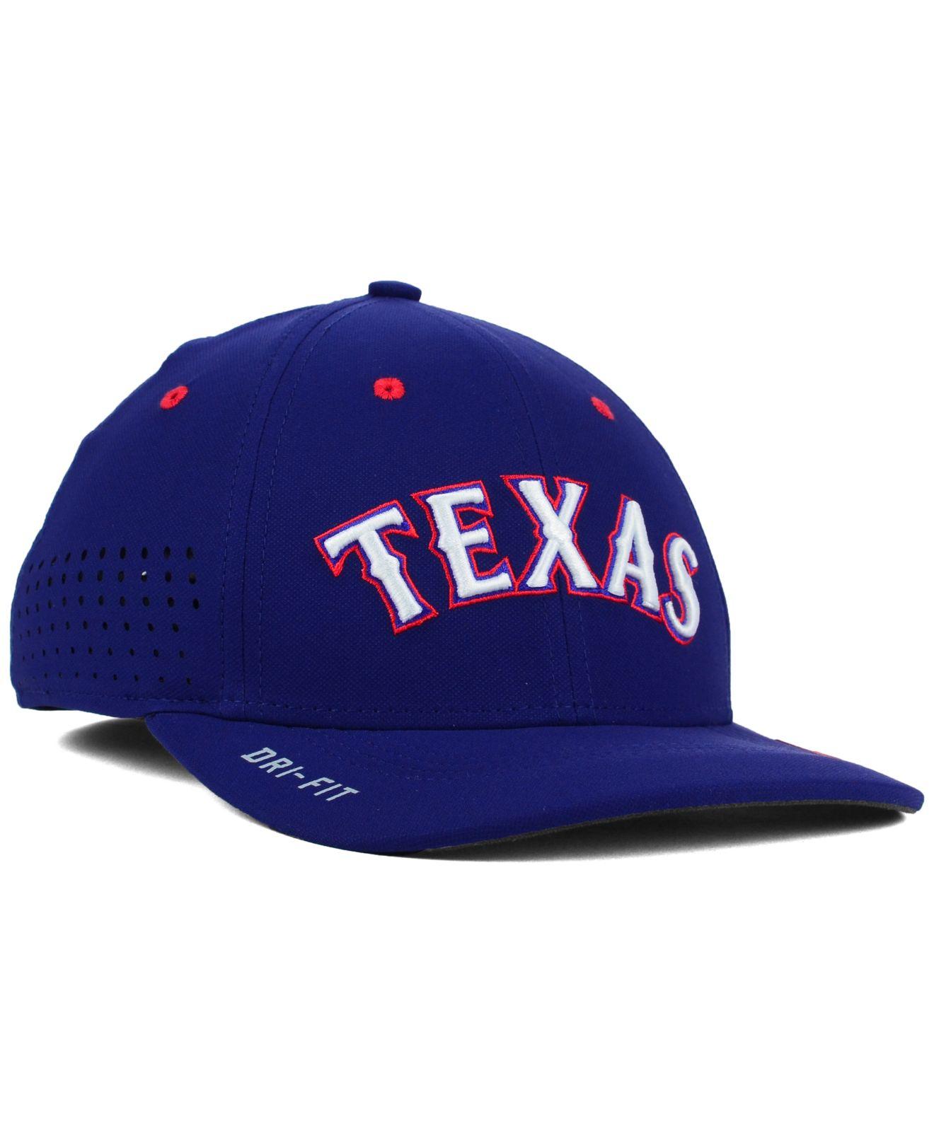 3efc2018edc spain nike adults texas rangers heritage86 dri fit mix cap 0e561 6abf0   purchase lyst nike texas rangers vapor swoosh flex cap in blue for men  255ee 22650