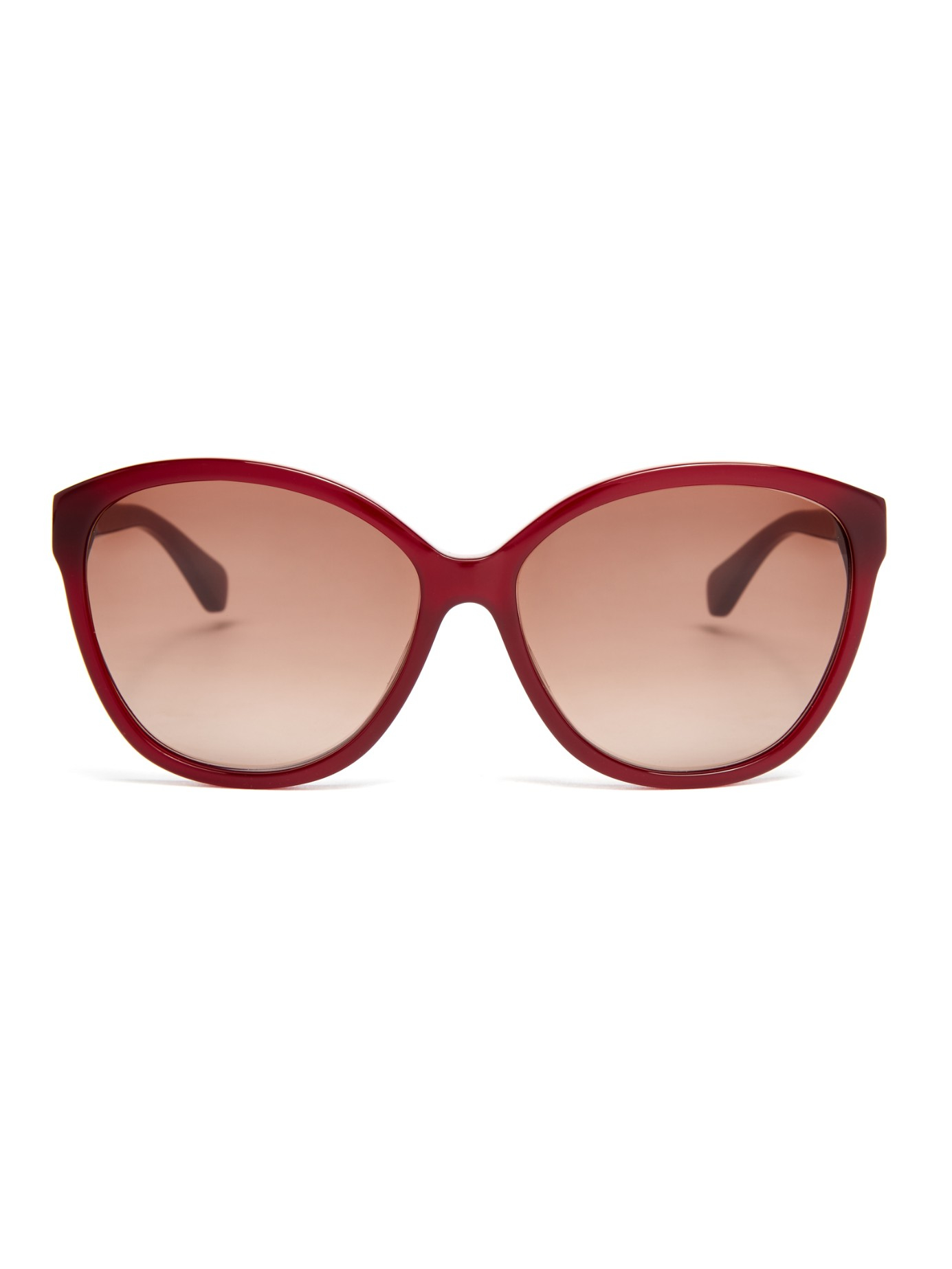 Diane von furstenberg Harper Sunglasses in Red