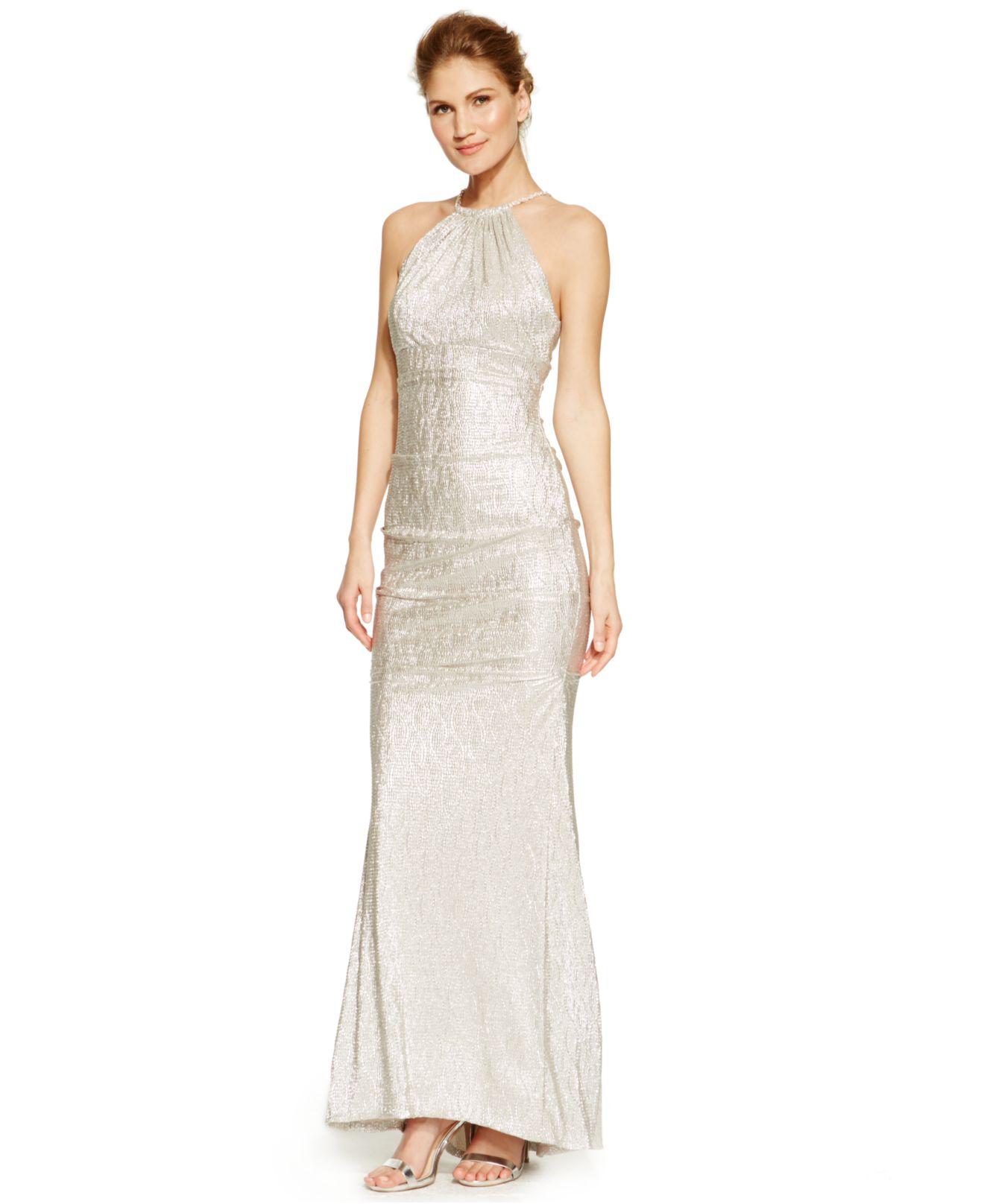 Xscape Dresses Gold | Dress images