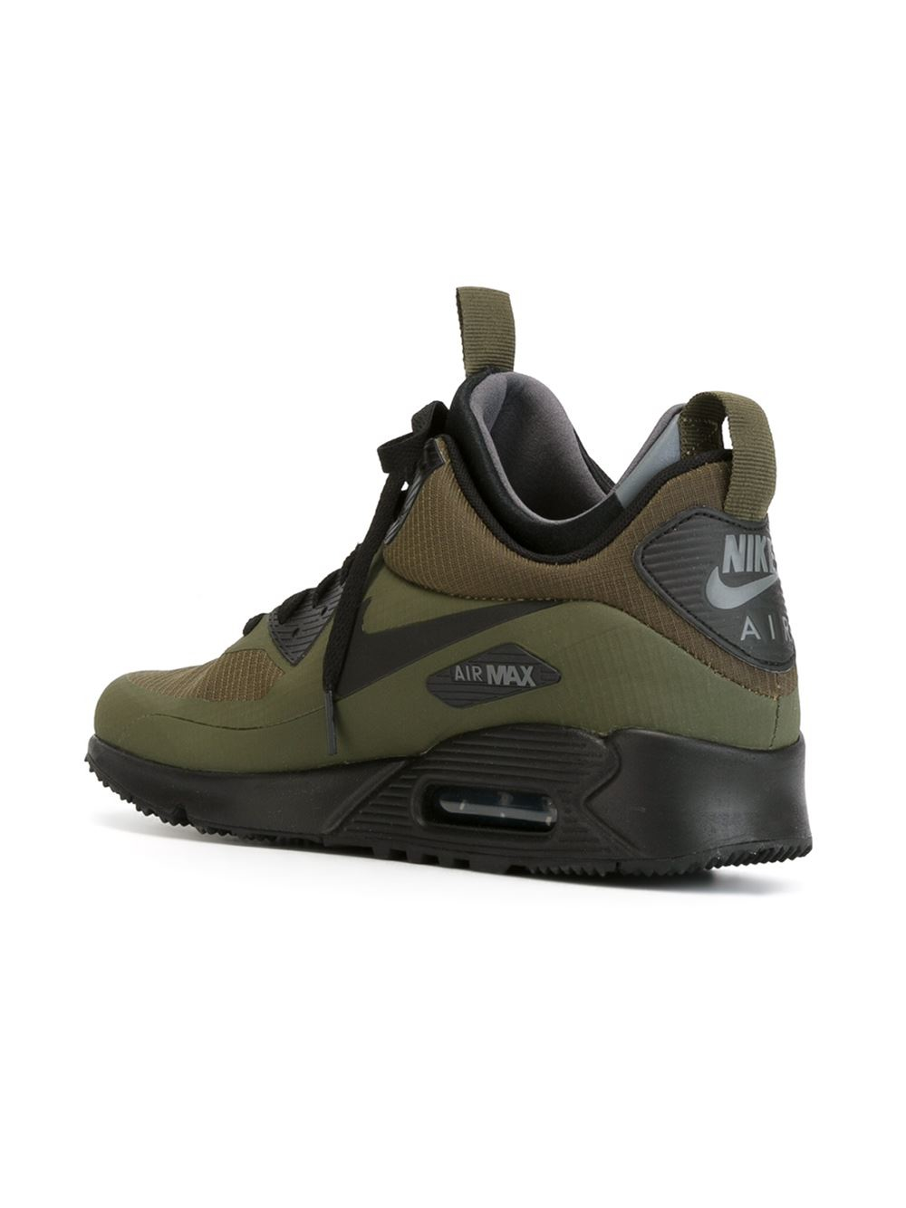 Lyst Nike Air Max 90 Mid Winter Sneaker Boots In Green