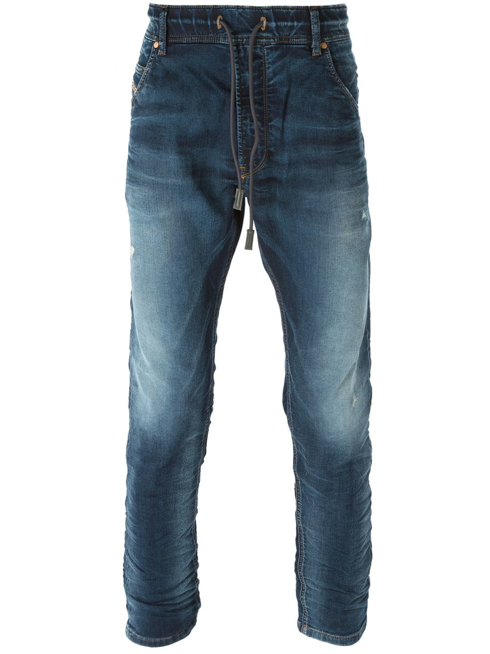 Mens Slim Fit Tapered Leg Jeans