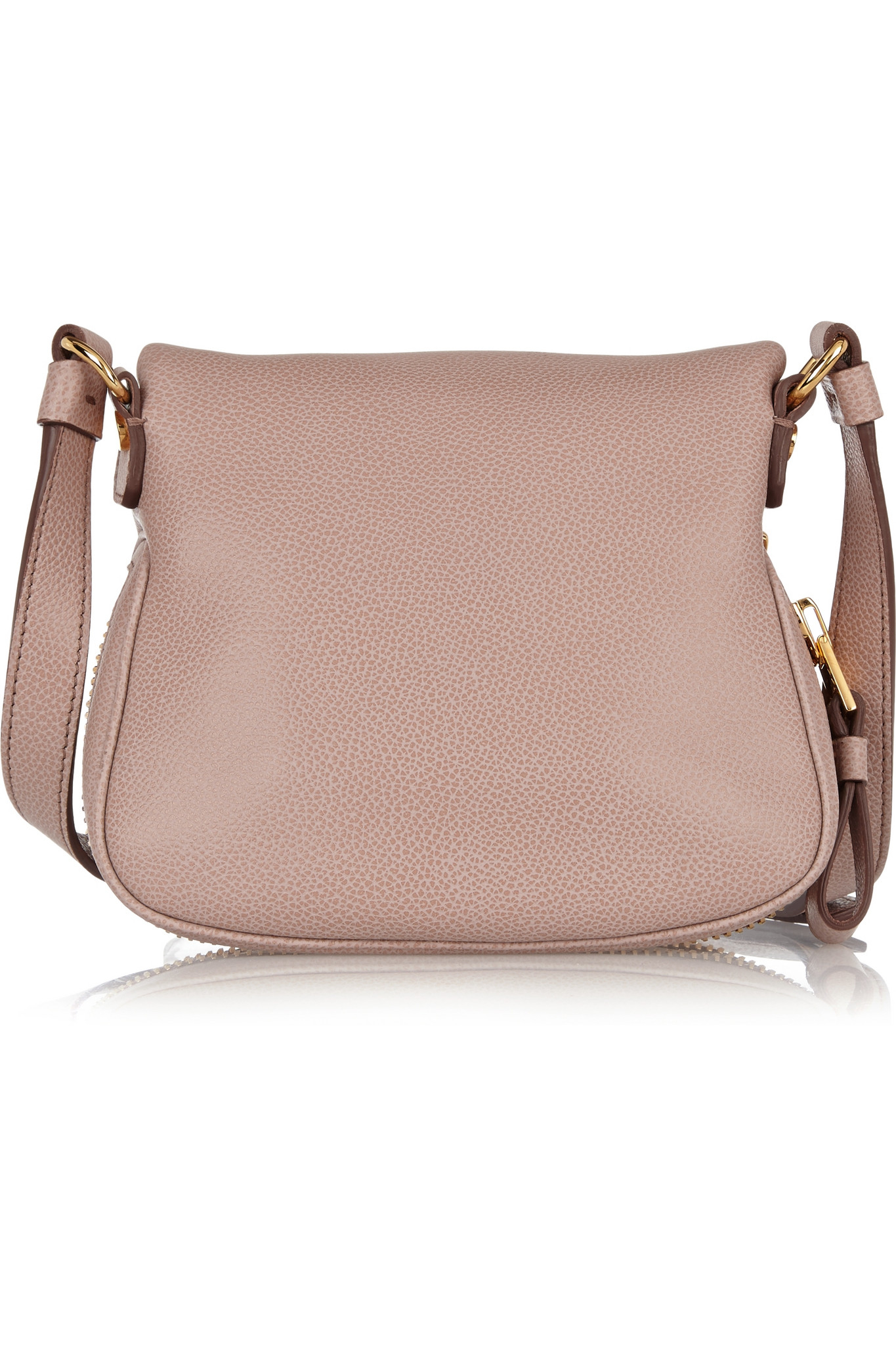 28fbb934d2dc Tom Ford Jennifer Mini Textured-leather Shoulder Bag in Pink - Lyst