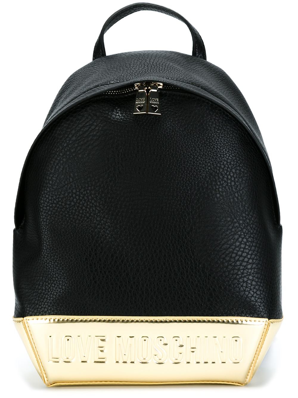 fbff9a19d0fc1 Lyst - Love Moschino Embossed Logo Backpack in Black