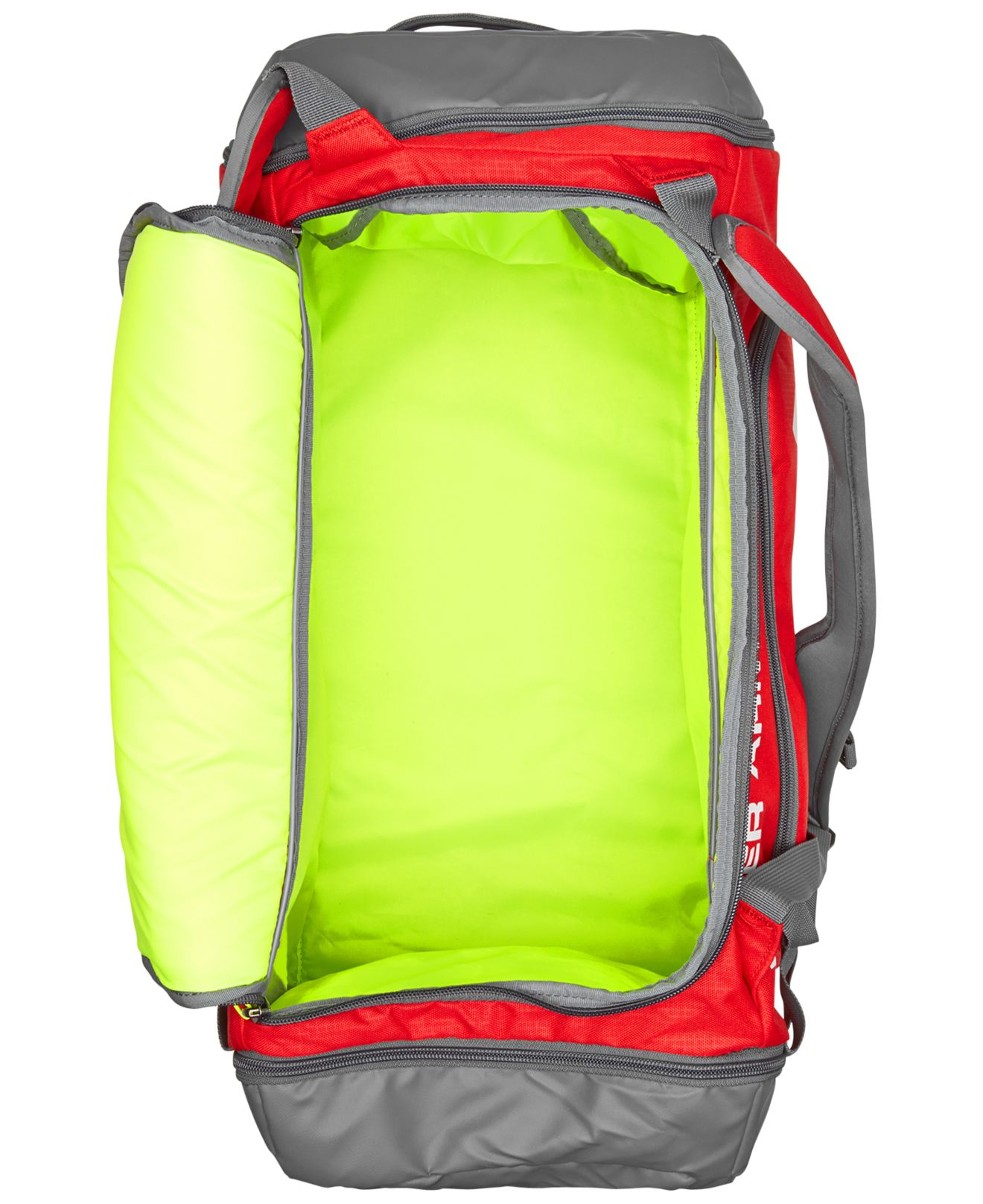 Lyst - Under Armour Contain Duffel Backpack in Red for Men