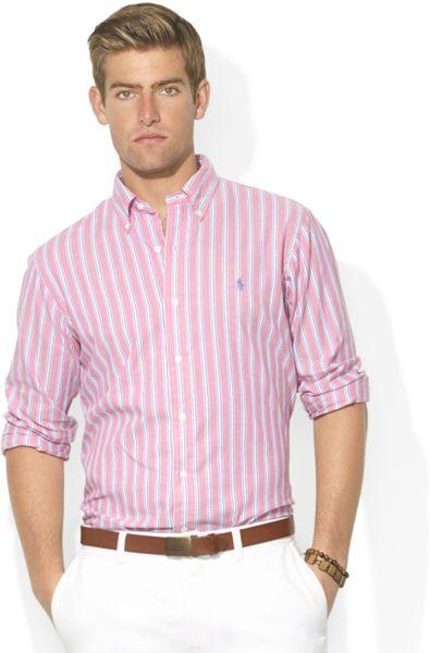 Ralph Lauren Pink Oxford Shirt Pink/white Ralph Lauren