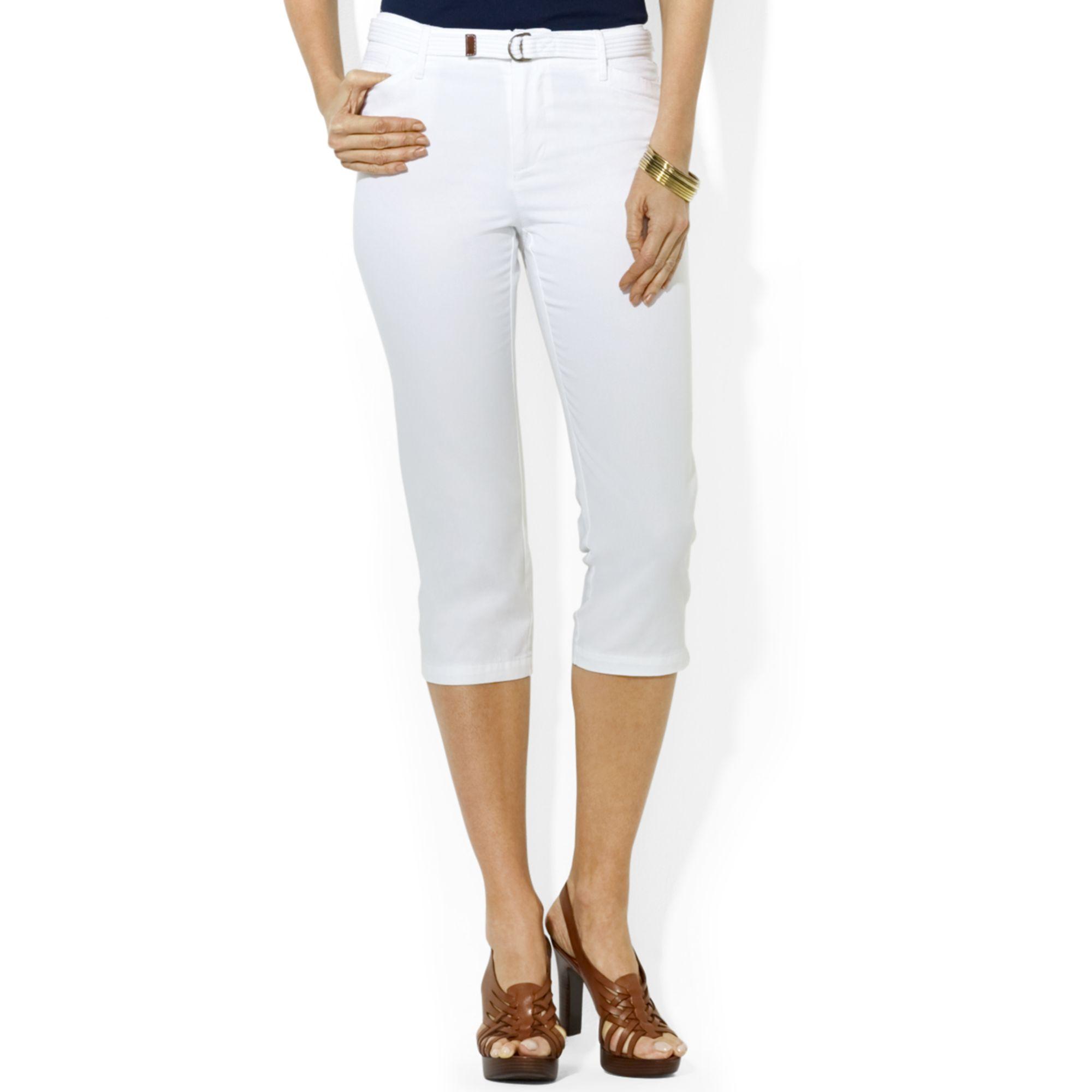 Lauren by ralph lauren Lauren Jeans Co Petite Slimfit Capri Pants ...