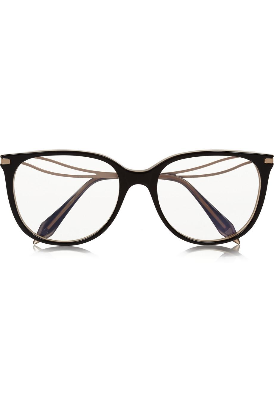 half frame sunglasses - Black Victoria Beckham rEnMn2JP