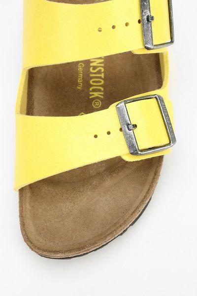 Birkenstock Arizona Sandal In Yellow Lyst