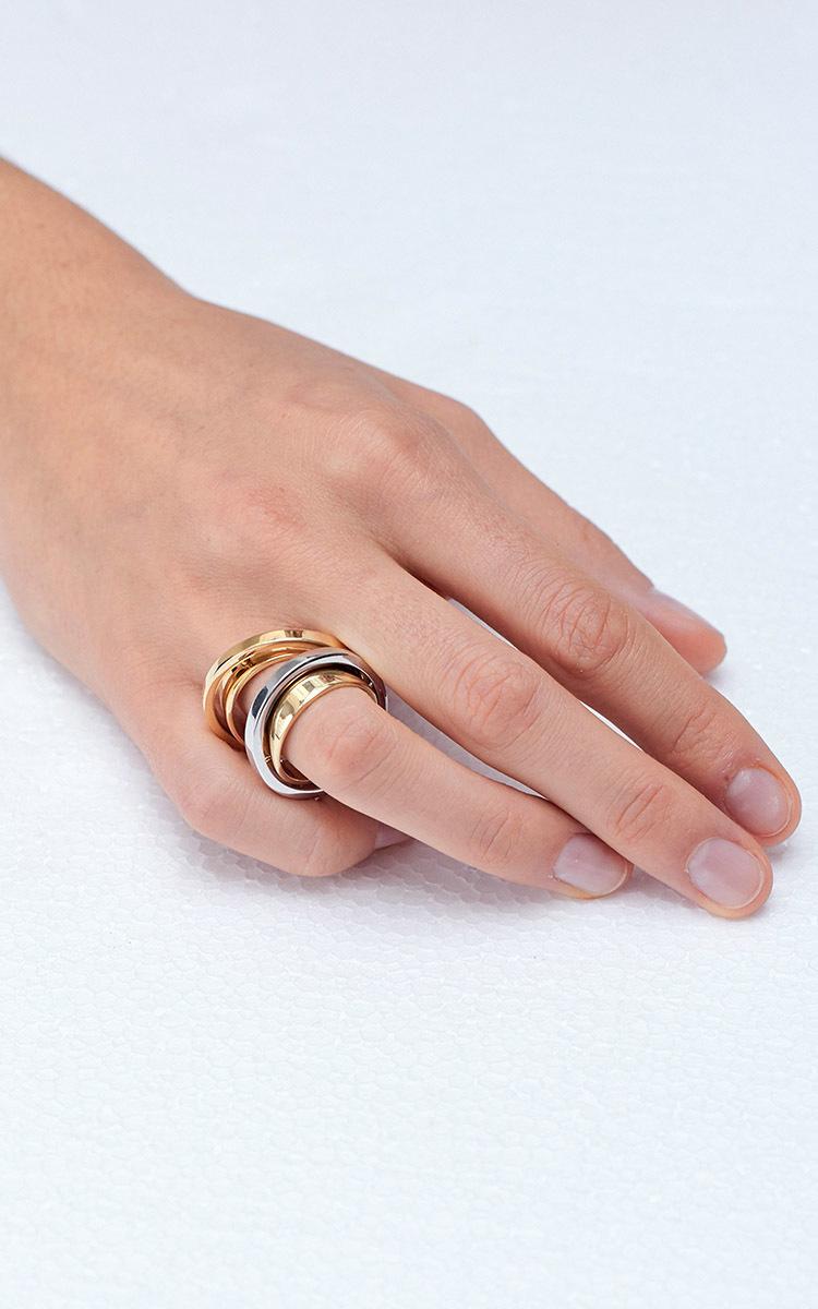 Charlotte Chesnais Heart Ring - Silver 8JaceHt51h
