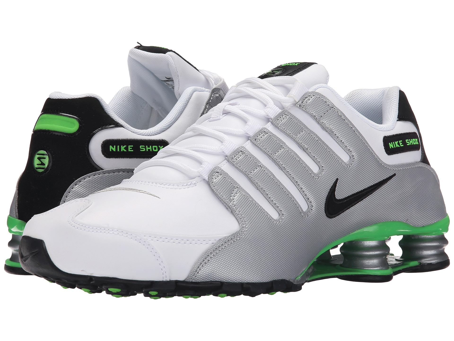 0e79b944ea4 ... uk lyst nike shox nz in white for men 771ee 85b99