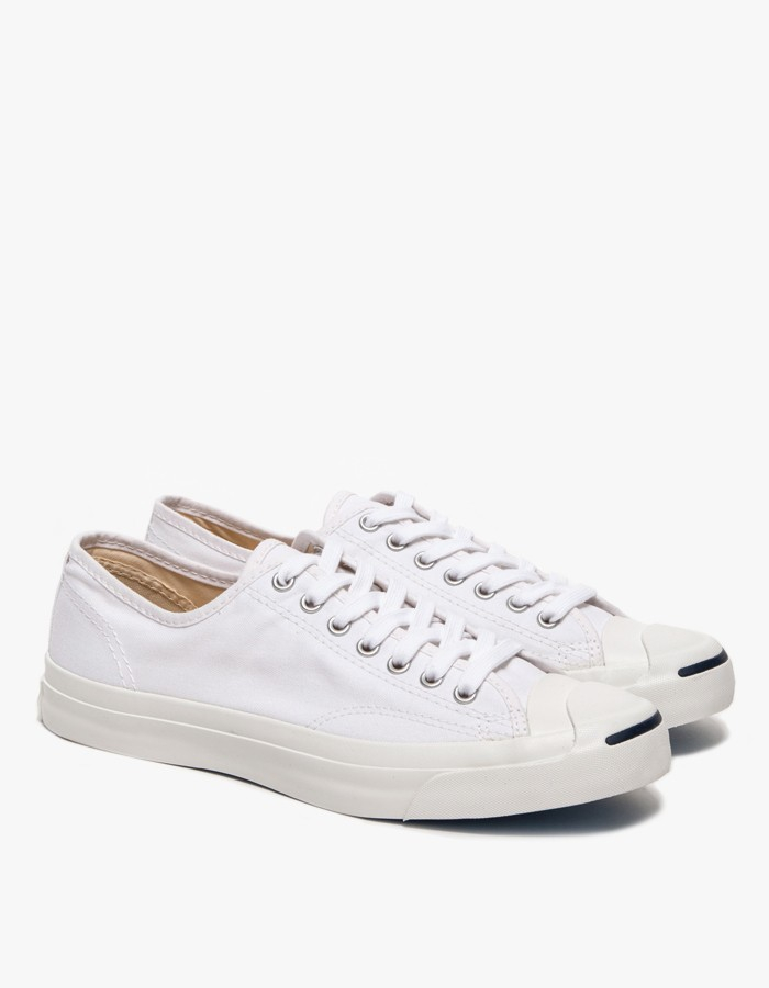 51e240890ec7 Lyst - Converse Jack Purcell Jack Canvas White in White for Men