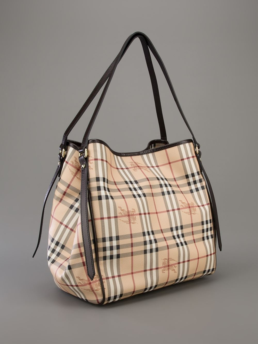 16826a53f067 Lyst - Burberry Canterbury Tote Bag in Brown
