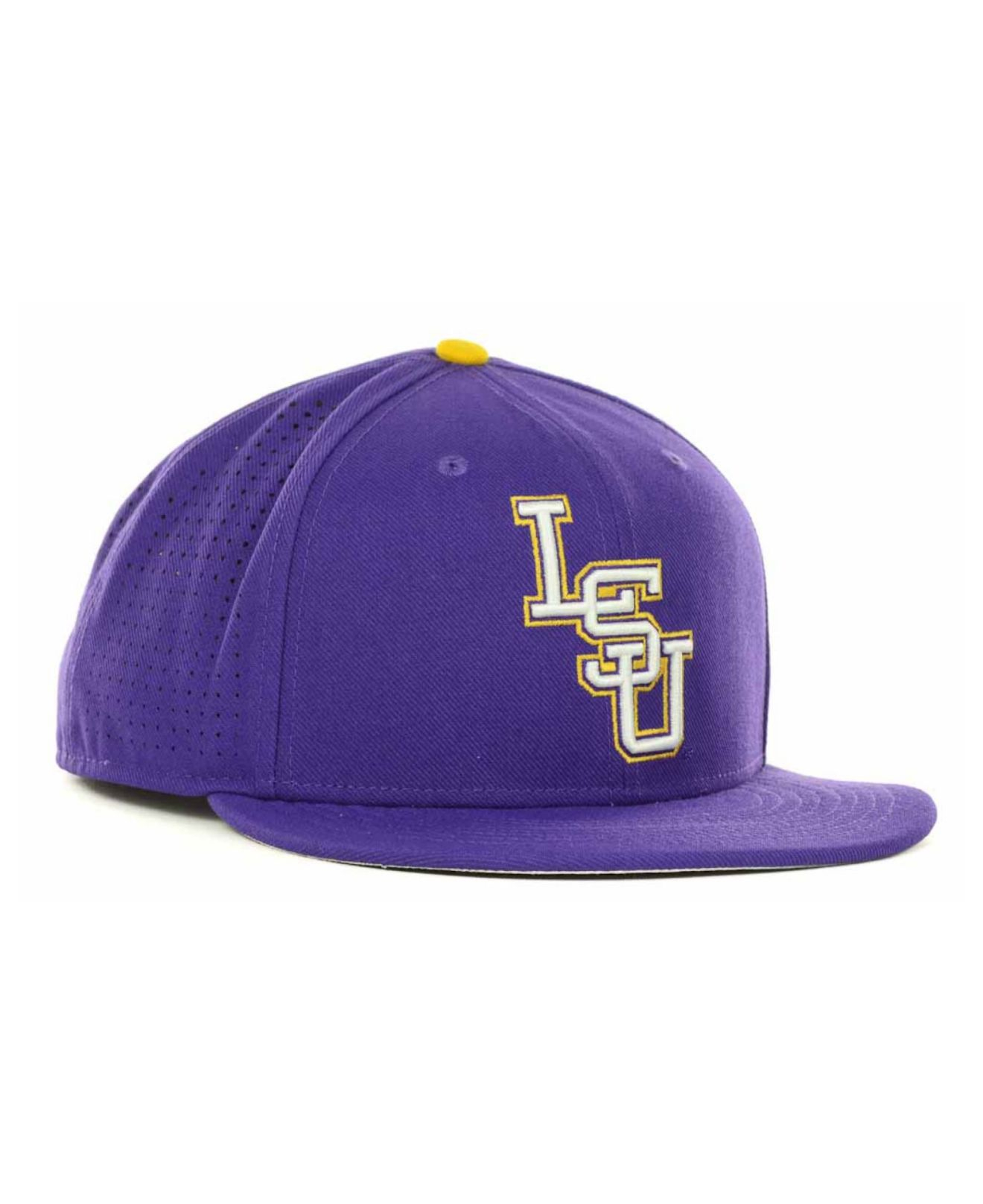 ... cheap lyst nike lsu tigers ncaa authentic vapor fitted cap in purple  for men 7cbc9 80aed 40ca31c4006