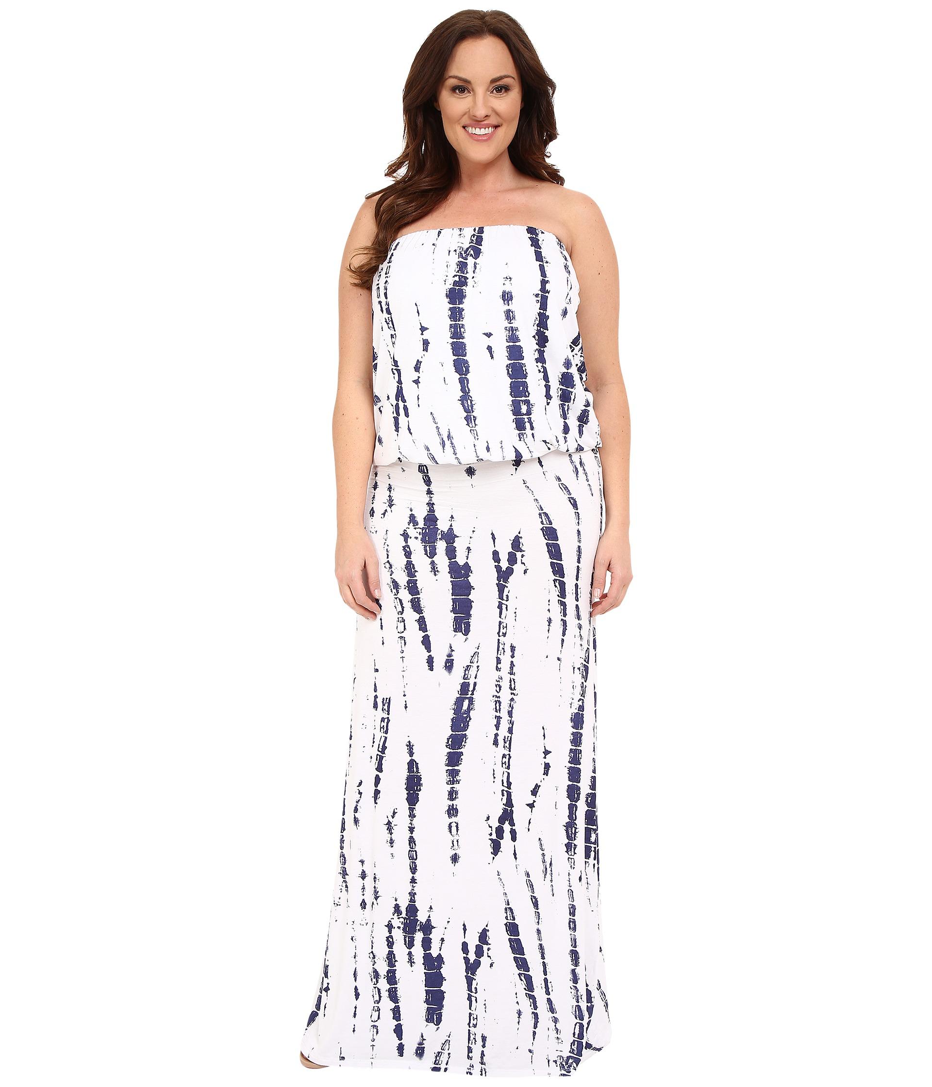 Lyst Culture Phit Plus Size Riena Maxi Dress In White